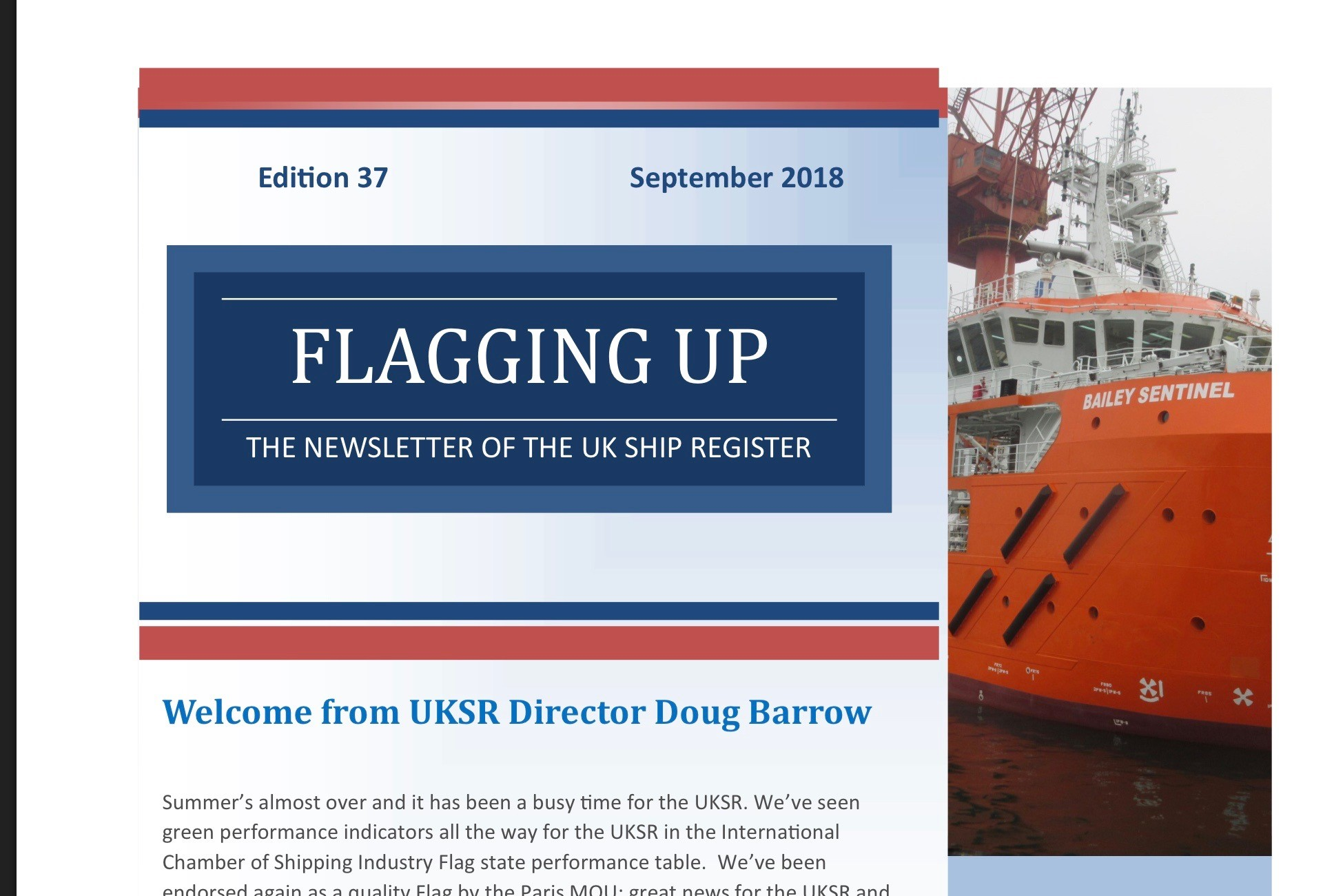 UKSR September 2018 newsletter now available