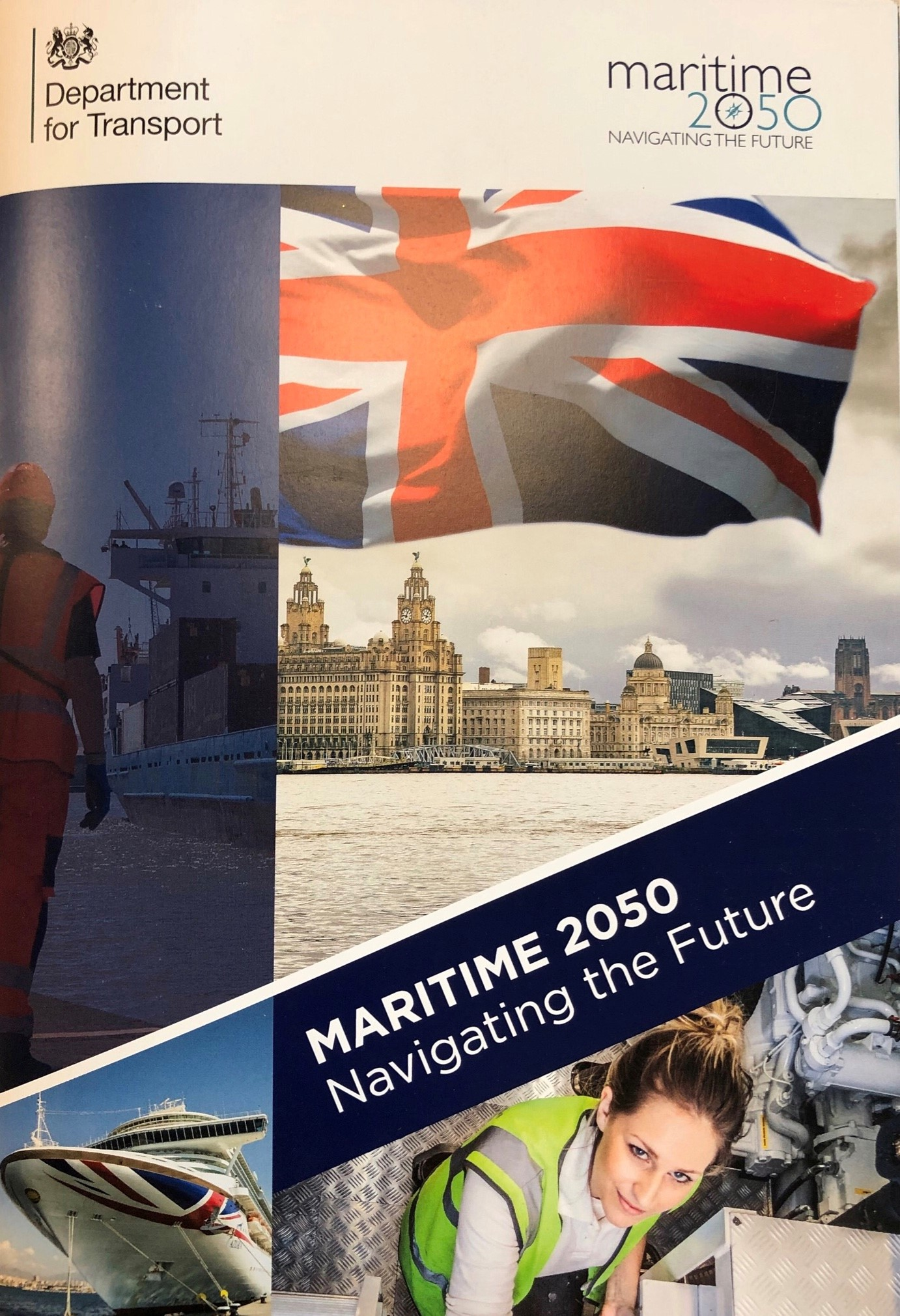 UK  to lead charge in emerging maritime technology